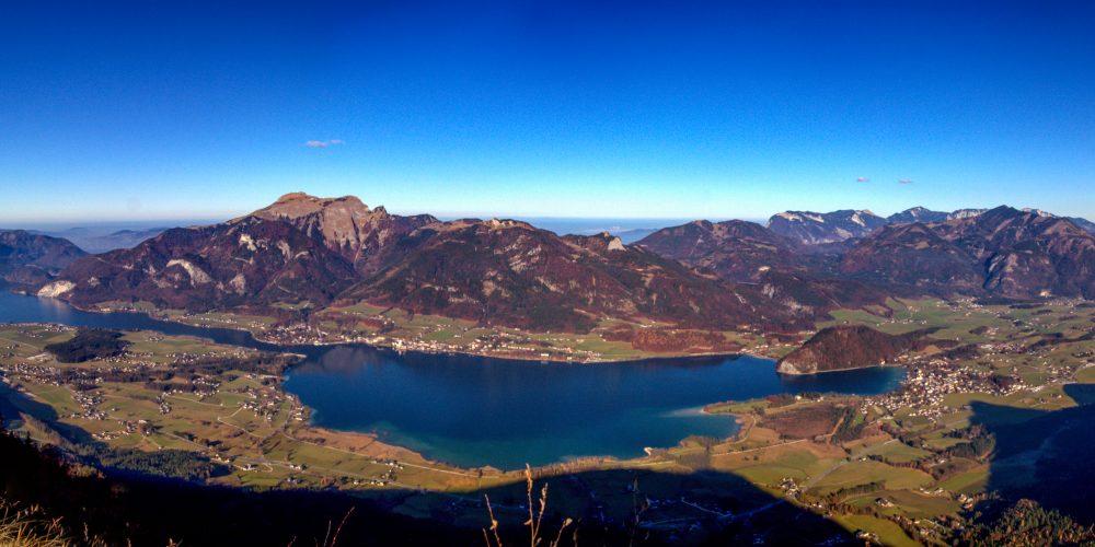 Panorama Wolfgangsee